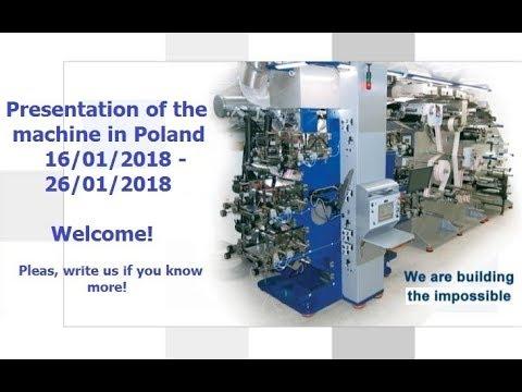 Presentation Of The Machine NIKELMAN GEARLESS 330 In 16.01.2018 - 26.01.2018 In Poland