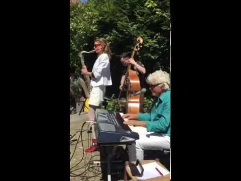 """""""Take Five"""" on tenor sax (Naomi Adriaansz), played by AMSTERDAM CONNECTION"""