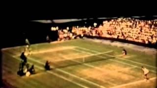 Margaret Court vs Chris Evert (1). 1/2 final Wimbledon 1973