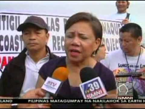 Misis Cynthia Villar's stance against reclamation in Coastal Area