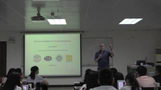 Lawrence Blume: Introduction to Networks
