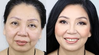 Mature Makeup | I Give My Mum a Makeover! Tina Yong