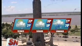 Pronóstico del tiempo extendido. Probable alerta para el día domingo.