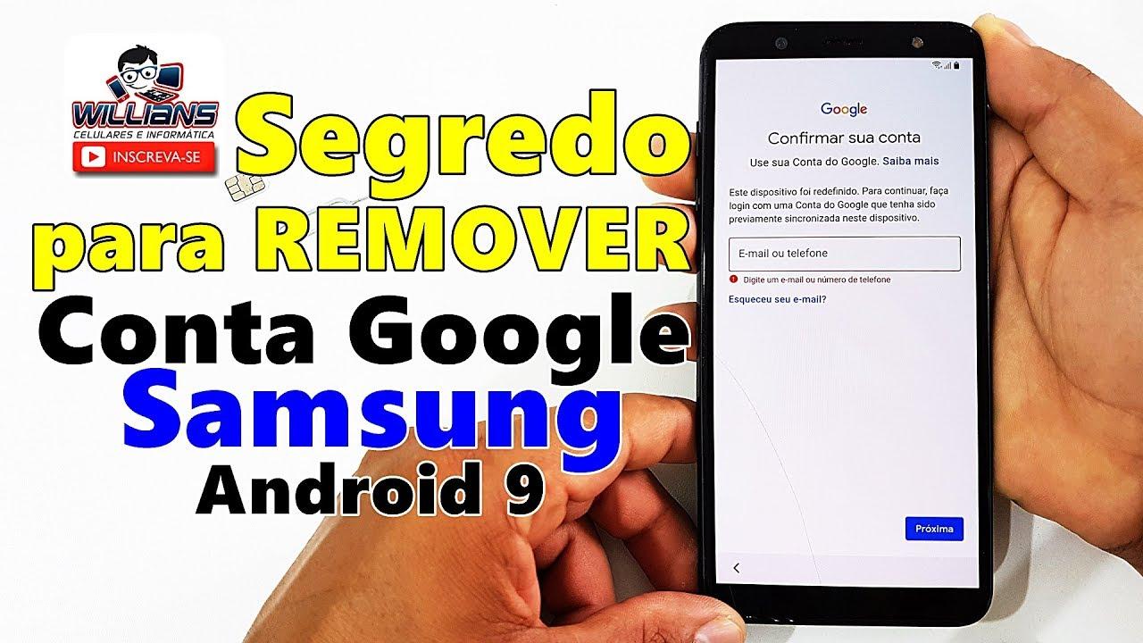 O Segredo Do Desbloqueio Da Conta Google Samsung A10 A20 A30