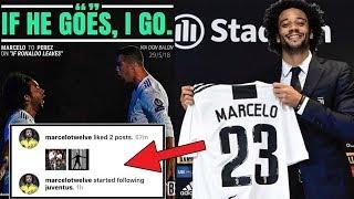 Marcelo to Follow Cristiano Ronaldo to Juventus ? Latest Transfer News