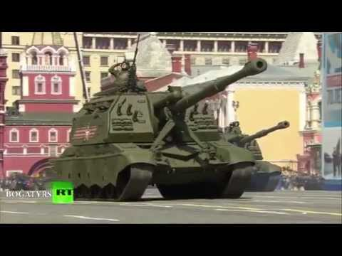 Victory Parade Moscow 2015 - March of the empire