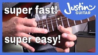 59 Second Guitar Lesson: Uber Fast Trill Tapping (#006)