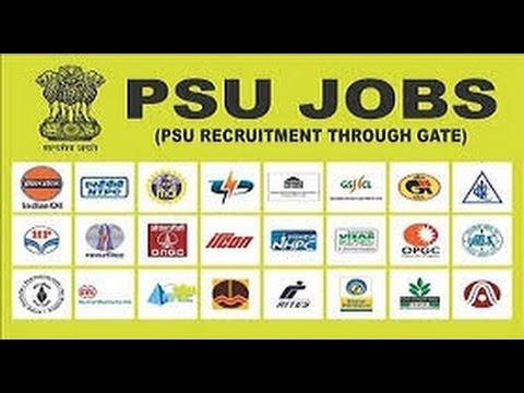 GATE cut off ||  PSU's || PSU Jobs through GATE ||GATE 2017