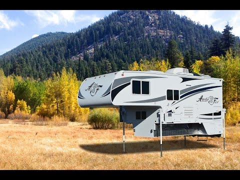 Quick Tour Of The Arctic Fox 1140 Pickup Camper