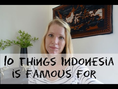 10 things Indonesia is famous for | Coffee with Nani