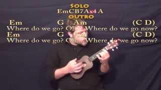 Sweet Child of Mine (GNR) Ukulele Cover Lesson with Chords/Lyrics