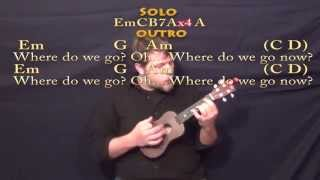 Sweet Child of Mine (GNR) Ukulele Cover Lesson with Chords/Lyrics Mp3