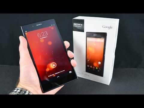 Sony Z Ultra (Google Play Edition): Unboxing & Overview