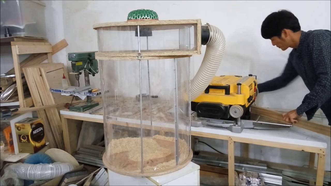 Planer Dust Collection Perfect Youtube
