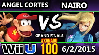 Xanadu 100 - HBA   Angel Cortes (Diddy Kong) Vs. Nairo (ZSS) SSB4 GF - Smash Wii U - Smash 4