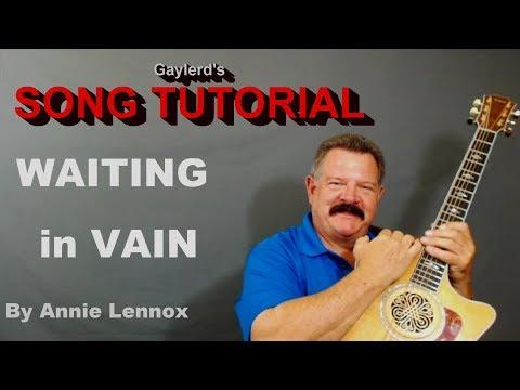 WAITING IN VAIN - Annie Lennox Rendition | Guitar Lesson  - PREVIEW