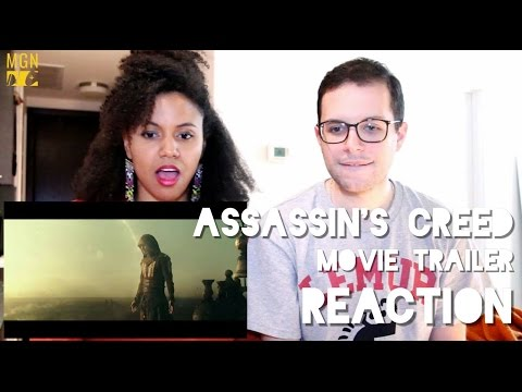 Assassin's Creed - Movie - Official Trailer Reaction