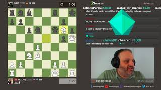 GM Finegold Stream with OBS!