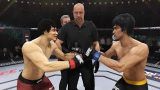 Jackie Chan vs. Bruce Lee (EA sports UFC 3) - CPU vs. CPU