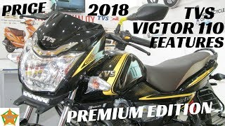 2018 TVS Victor Premium Edition Walkaround, Full Details Review | Price, New Features,etc.