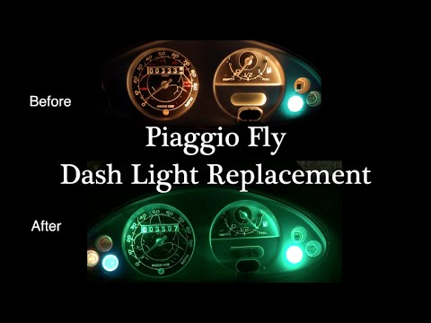 Piaggio Fly Dash Light Replacement | Mitch's Scooter Stuff
