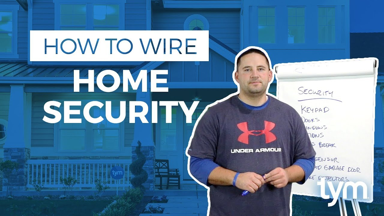 How To Wire A Smart Home Wiring For Security Youtube