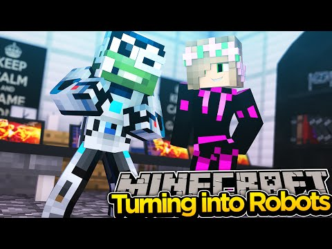 Minecraft Adventure - TURNING INTO ROBOTS w/ LittleKelly