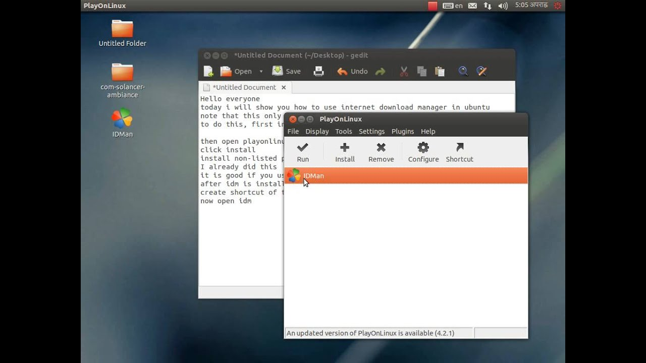 How to Install Internet Download Manager (IDM) on Ubuntu (Working)