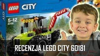 Klocki Lego City Traktor Leśny 60181 | 2017 | Recenzja  | U Norberta