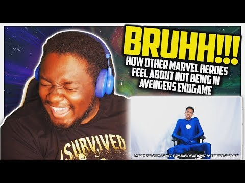 How Other Marvel Heroes Feel About not Being In Avengers Endgame! REACTION!!!
