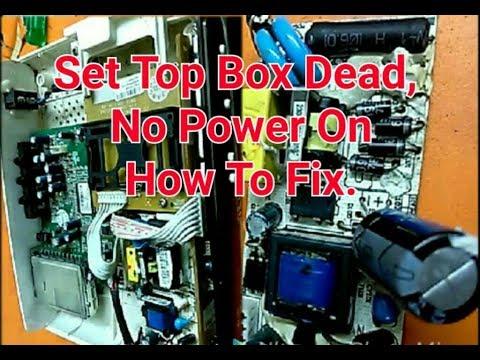 Set Top Box Repair Guide / Dead Set Top Box Power Supply Repair 2017 ...