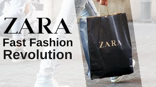 How Zara Took Over The Industry Using Fast Fashion