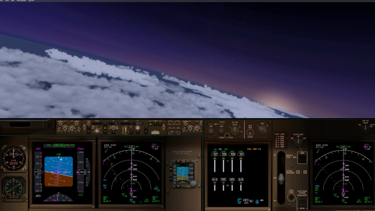 Live on Twitch: Aerowinx PSX + P3D v4 Flight from RJCC to RCTP (CAL131)