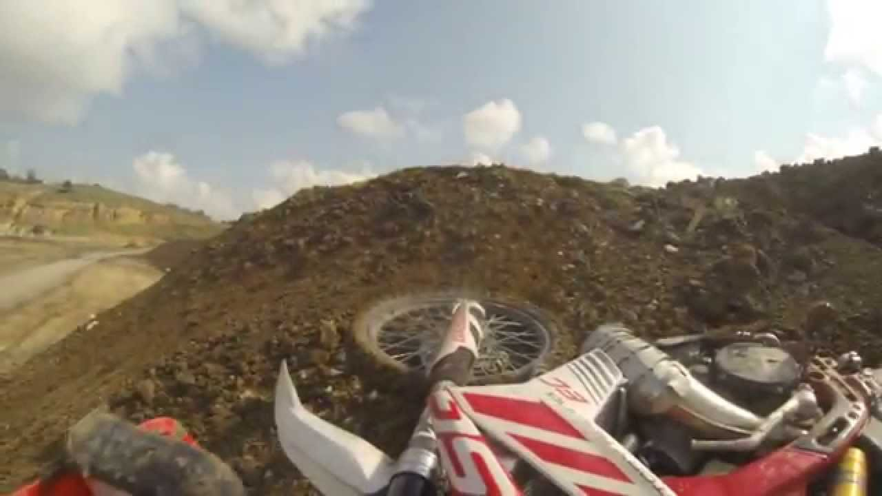 GASGAS EC250R Hill Climb Fail