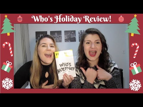 Who's Holiday Review!!