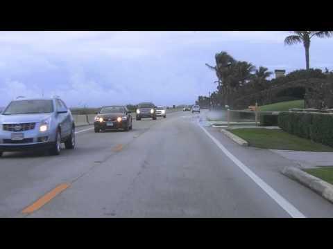 A Drive Down A1A South From Palm Beach Florida