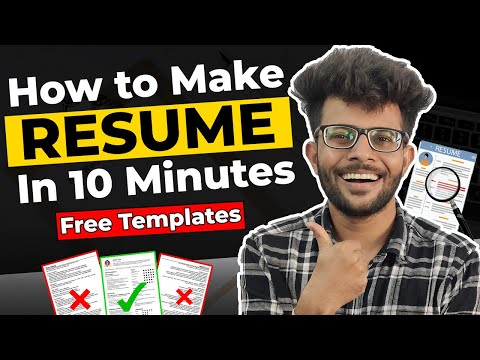 How to make a resume for college internships
