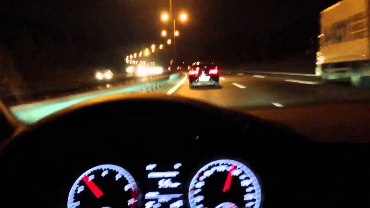 Golf 7 1.4 TSi ACT Highline Highway Night Drive with System - YouTube