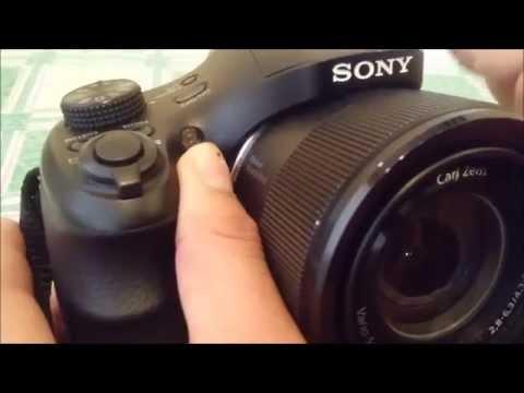 sony cyber shot dsc h300 manual