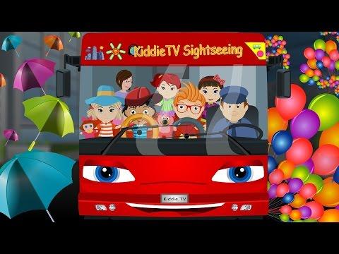Download Wheels On The Bus   Nursery Rhymes   Children Songs by Kiddie TV