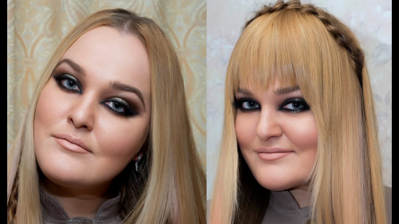 how to make fake bangs