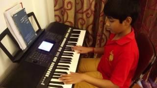 'Chaandaniya' (from the movie 2 States) on Keyboard/Synthesiser by Vinayak Roy