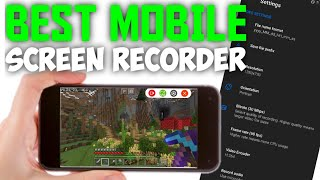 BEST MOBILE SCREEN RECORDER FREE! Best mobile screen recorder for android! Game recorder for Android