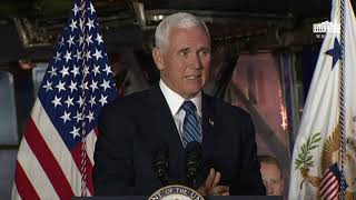 The White House Vice President Pence Delivers Remarks at the 6th Meeting of the National Space Counc