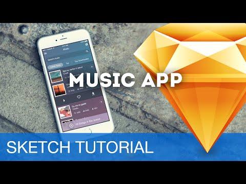 Sketch 3 Tutorial • Music App (iOS) • Sketchapp Tutorial & Design Workflow