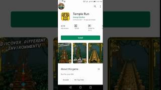 Temple run game review hot 🔥 girl 👧