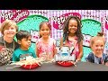 Spaghetti CHALLENGE with Naiah and Elli + Maddison from MaddaKenz