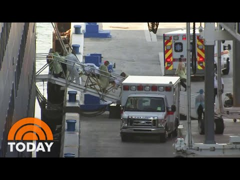 2 Cruise Ships With Coronavirus Patients Arrive In Florida After 27 Days At Sea | TODAY