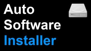 how to make an automated installer for windows xp vista 7
