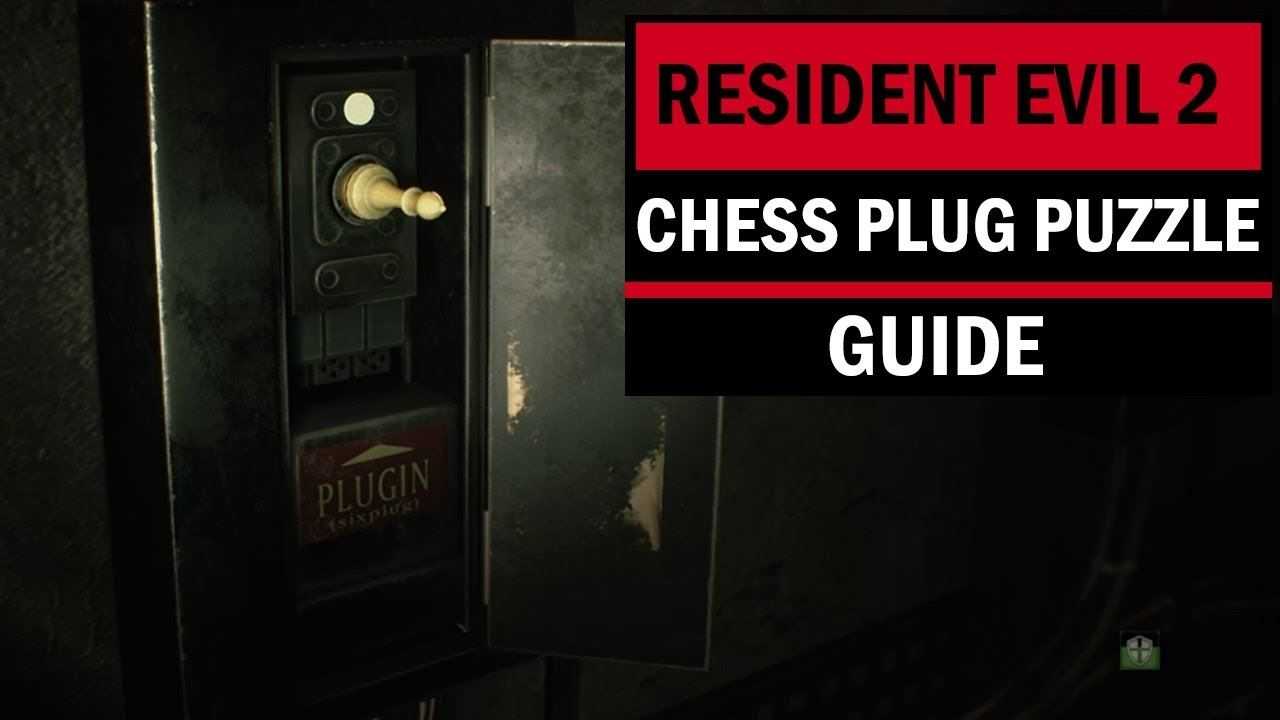 Resident Evil 2 Chess Plug Puzzle Solution
